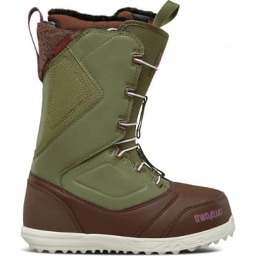 Thirtytwo Zepher FT Women's Snowboard Boot - Brown/Green