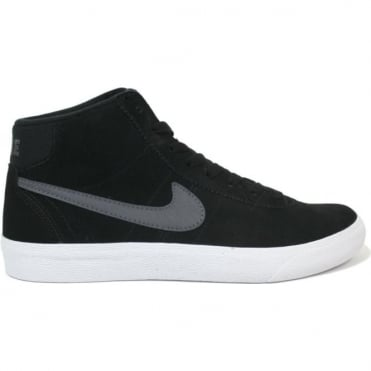 Nike SB Bruin Hi Women's Shoe - Black/Dark Grey/White