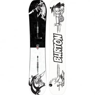 Burton X Mad Magazine Spy vs Spy Free Thinker Snowboard 2018 - 157cm