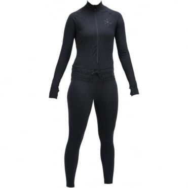 Airblaster Hoodless Ninja Suit Women's Thermal - Black