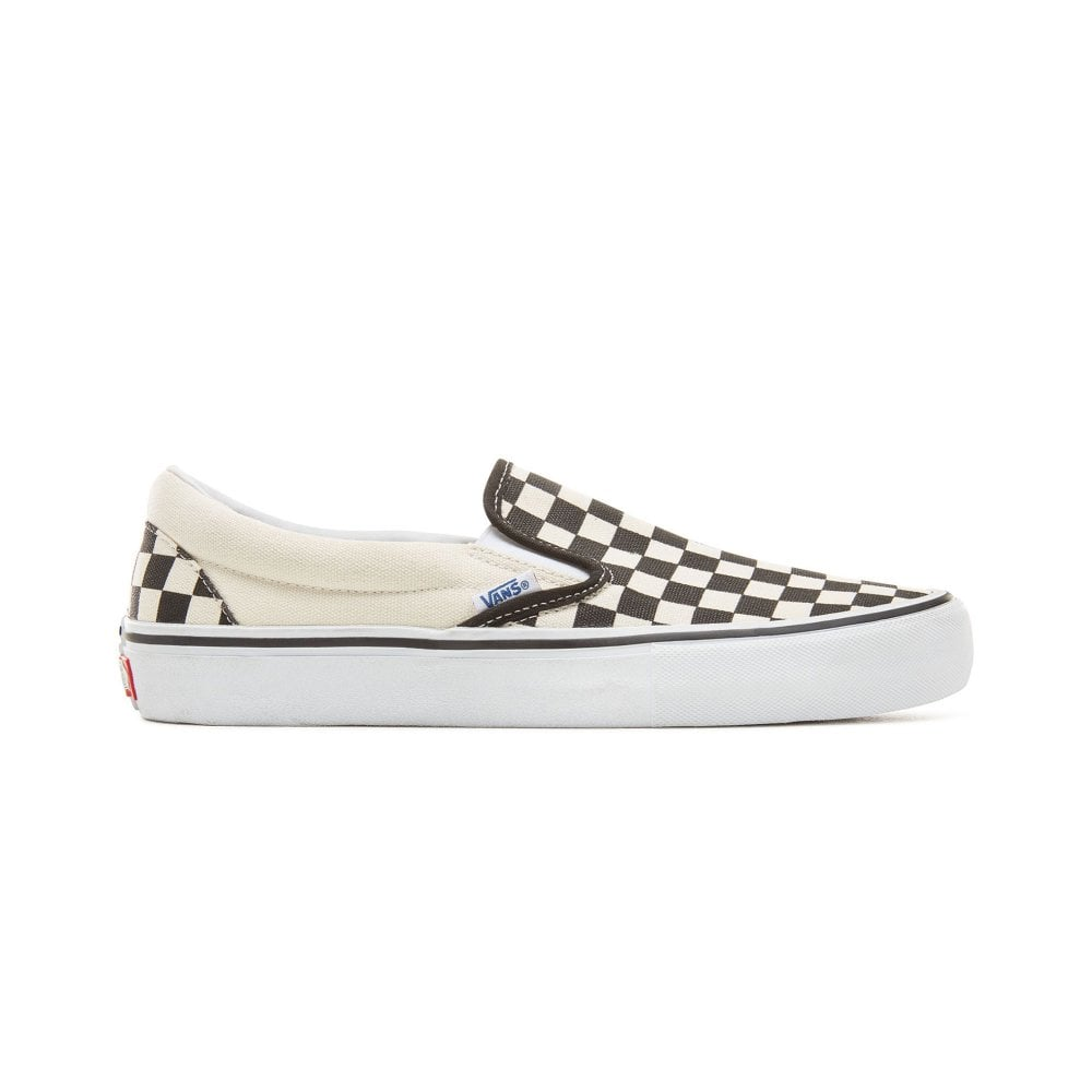8975a422a16646 Vans Checkerboard Slip-On Pro Shoe - Black White
